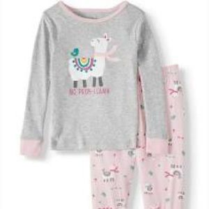 wonder nation Pajamas - Wonder nation toddler girl 2-piece pajama set